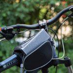 Inateck mercury box auf Fahrrad