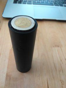 Münze im Vergleich zum PowerCore 5000