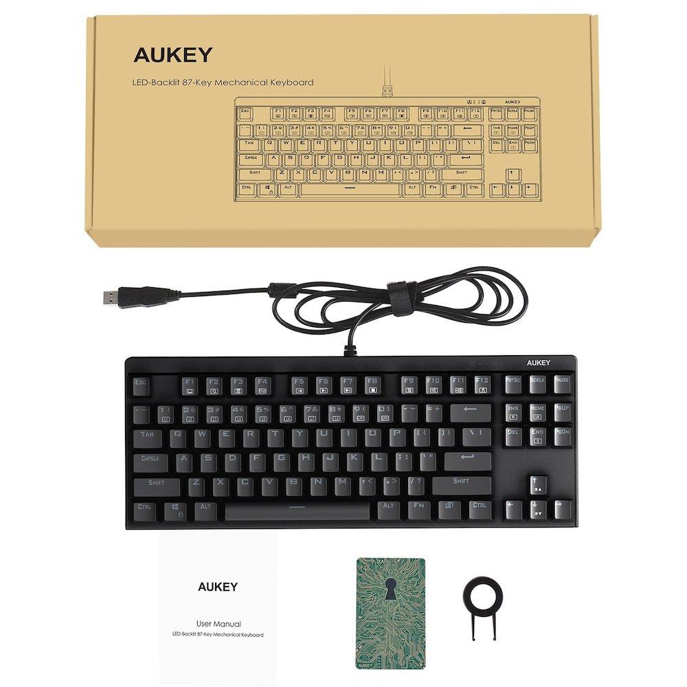 KM-G7 mechanische Tastatur Lieferumfang