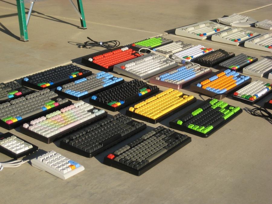 Einige mechanische Tastaturen