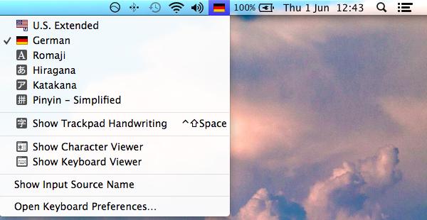 Unter macOS umstellen