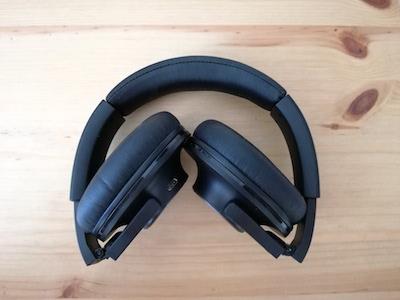 zusammengeklappter Kopfhörer