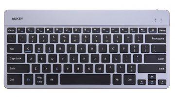 Aukey KM-B9 Test: Aluminium-Tastatur für unterwegs