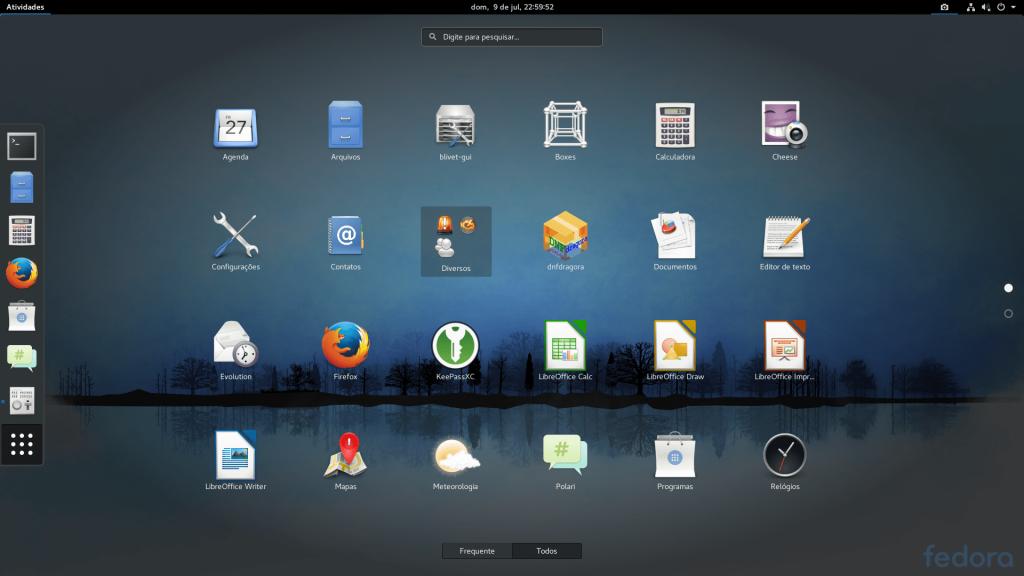 Fedora 26 Apps