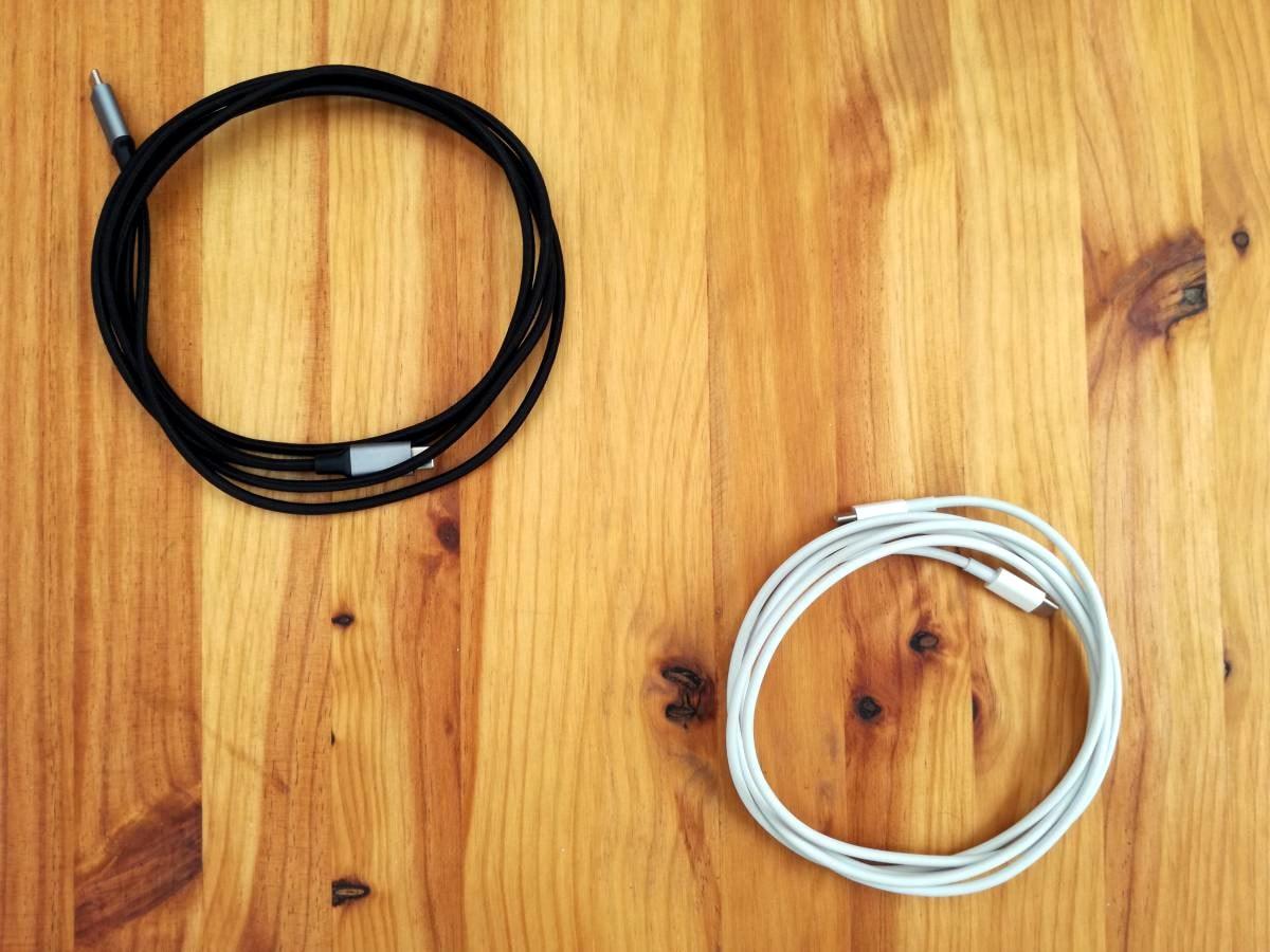 Zwei USB-C Kabel
