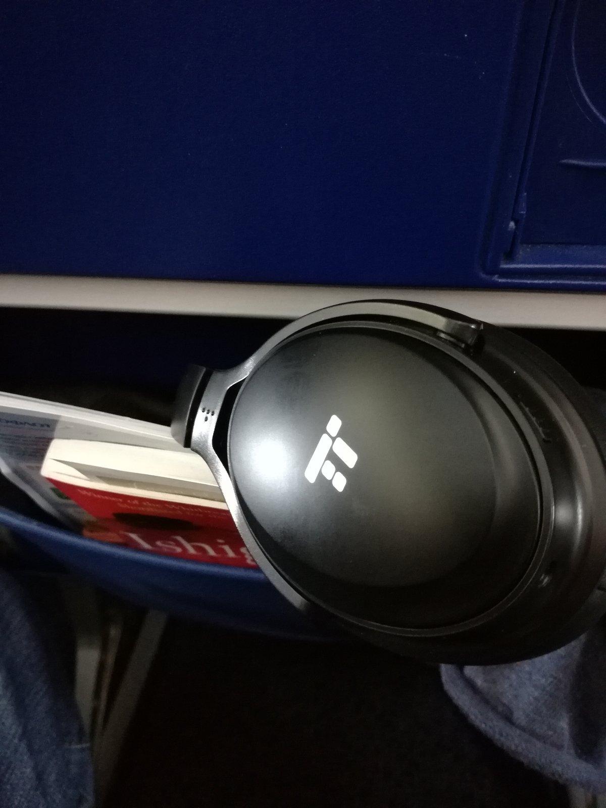 TT BH22 im Flugzeug