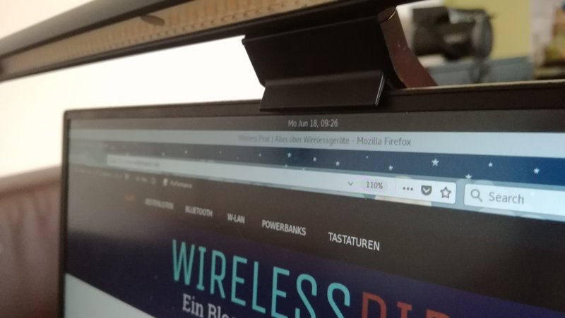 Screenbar auf Dell XPS13