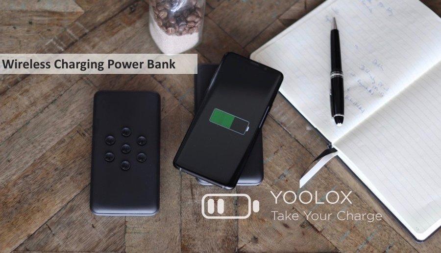 Yoolox wireless powerbank